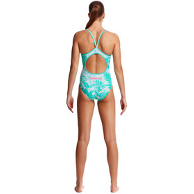 Funkita Diamond Back One Piece Traje de Baño Mujer, tropical sunrise